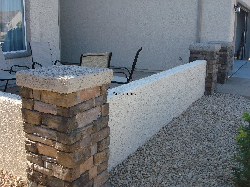 block walls | artcon, inc. | las vegas concrete | decorative