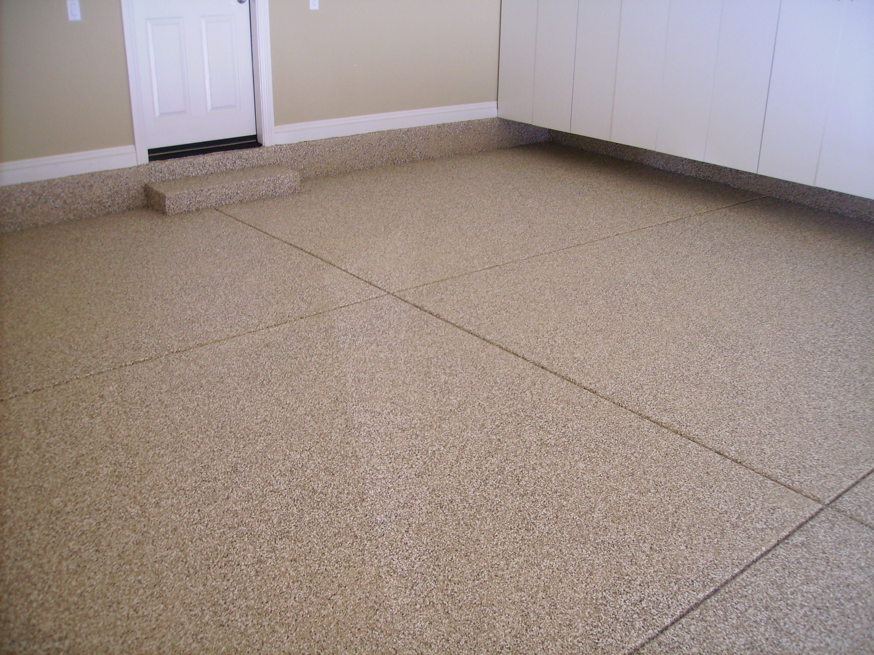 Floor coating las vegas garage floor coatings for Concrete floor covering