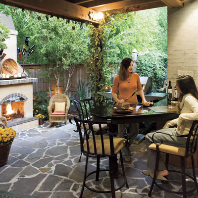Small Backyard Idea small yard patio ideas | artcon, inc. | las vegas concrete