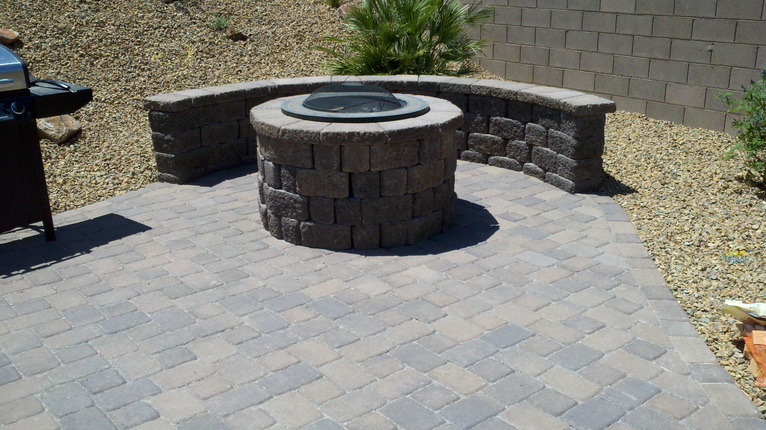 2018 Pavers Gallery - Get Design Ideas, View Paver Pictures Paver fire pit pictures